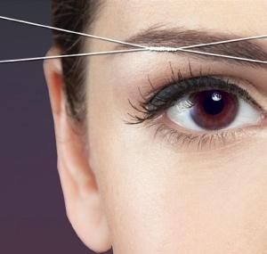 Eyebrow-Threading