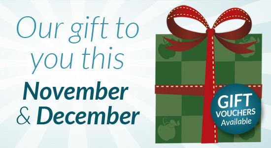 November & December Eden Offers