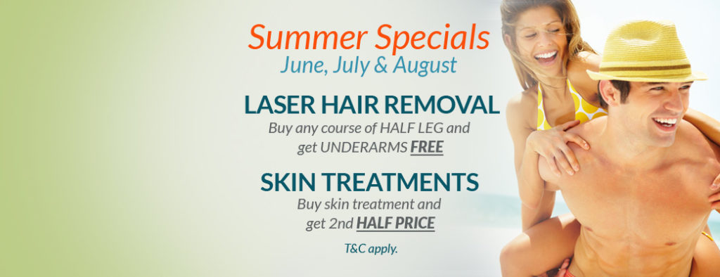 Summer Specials at Eden Skin & Laser