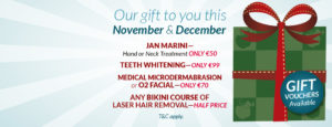 November and December Offers at Eden