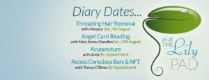 August Diary Dates for Lily Pad