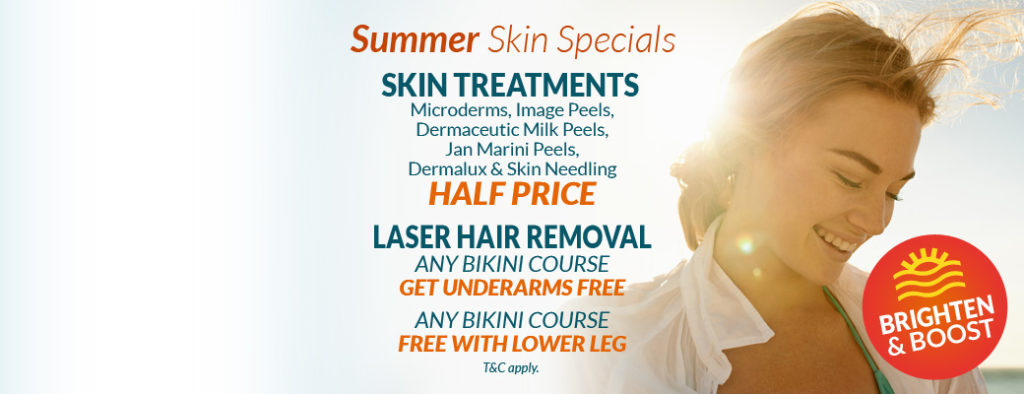 Summer Skin Specials at Eden