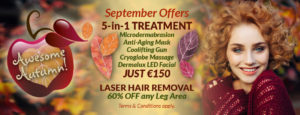 September Offers at Eden Skin & Laser